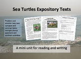 Sea Turtles Expository Text Mini-Unit
