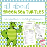 Sea Turtles Nonfiction Text Features Book
