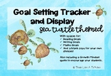 Sea Turtles Ocean Theme Goal Setting and Tracking Display