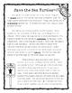 Sea Turtles Reading Comprehension FREEBIE - Informational Text