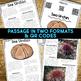 Sea Urchin: Informational Article, QR Code Research & Fact Sort