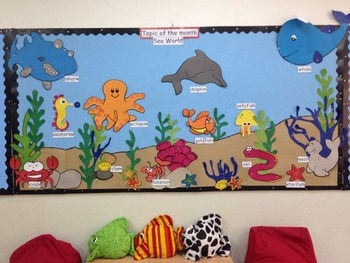 Sea World Topic Of The Month For Kindergarten Classroom