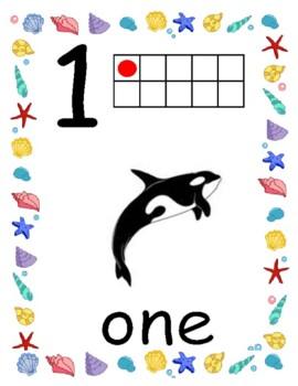 Sea creature numbers -