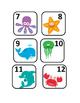 Sea life calendar numbers