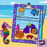 Sea of Emotions:  Mindfulness Listening Activity {elementary school counseling}
