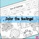 Sea of Feelings Coloring Emotions Worksheet