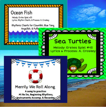Sea of Song: An Orff Based Unit of Ocean Learning