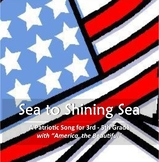 """""""Sea to Shining Sea"""" Choir Music with Track for Elementary"""