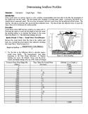 Seafloor Profiles Graphing Activity