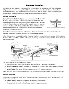 Seafloor Spreading Rates Lab Answers Review Home
