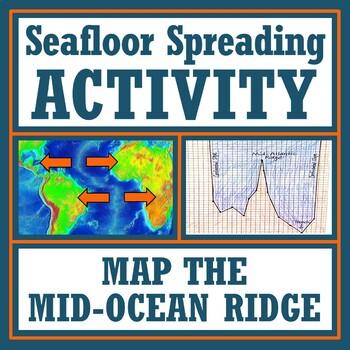 Seafloor Spreading Graphing Activity:  Map the Ocean Floor