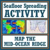 Plate Tectonics Seafloor Spreading Activity: Map the Ocean Floor