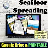 Seafloor Spreading Lesson   Distance Learning & Google Classroom