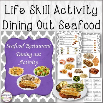Life Skill Activity Dining Out Seafood