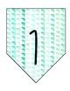 Seafoam Watercolor Place Value Banner