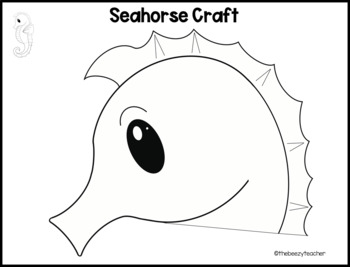 Seahorse Fact Booklet
