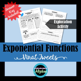Exponential Functions - Viral Tweets Exploration Activity