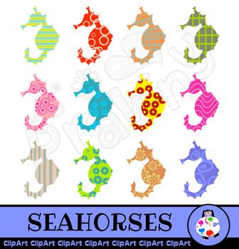 Seahorse Marine Animal Clip Art