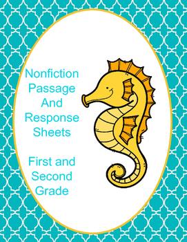 Seahorse Nonfiction Text Passage and Comprehension Questions