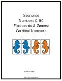 Seahorse Numbers 0-50 Flashcards & Games: Cardinal Numbers