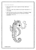 Seahorse Read & Respond Activity Pack
