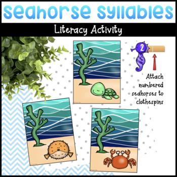 Seahorse Syllables Literacy Activity