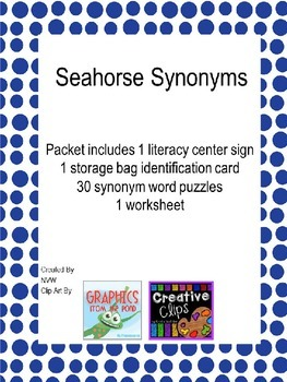 Seahorse Synonyms