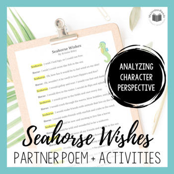 """""""Seahorse Wishes"""" {A Partner Perspective Poem}"""