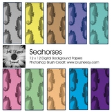 Seahorses Digital Backgrounds
