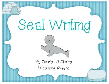 Seal Writing (includes circle and tree maps)