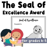 Free Seal of Excellence Award