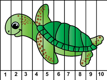 Sealife / Ocean Theme Puzzles