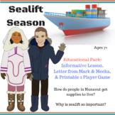 Sealift Season in Iqaluit, Nunavut - Game & Educational  Pack