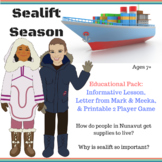 Sealift Season in Iqaluit, Nunavut - Game & Educational  Pack