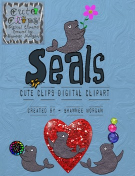 Seals [Cute Clips Digital Clipart]