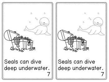 Seals Emergent Reader Text