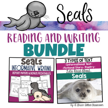 Seals: Reading and Writing Bundle {2nd and 3rd Grade}