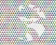 Seamless Glitter Geometrics in Bright Rainbow Colors Digital Paper Set