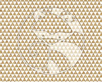 Seamless Glitter Geometrics in Gold Digital Paper Set