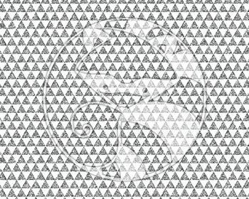 Seamless Glitter Geometrics in Silver Digital Paper Set