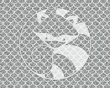 Seamless Glitter Pattern Set #2 in Silver Digital Paper Set