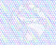 Seamless Iridescent Geometric Digital Paper Set