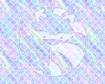Seamless Iridescent Pattern Set #2 Digital Paper Set