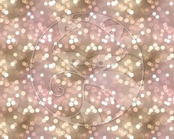 Seamless Pink and Brown Bokeh Digital Paper Set