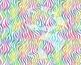 Seamless Watercolor Animal Prints in Bright Rainbow Colors Digital Paper Set