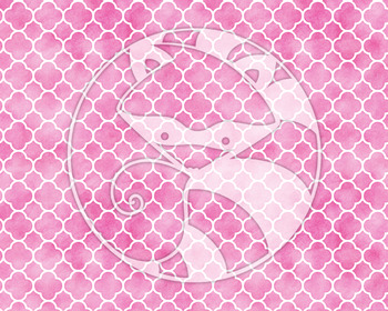 Seamless Watercolor Patterns #1 in Bubblegum Colors Digital Paper Set