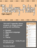 "Seamus Heaney's ""Blackberry-Picking"" TSP-FASTT Close Analysis Hyperdoc"