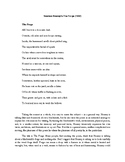 """Seamus Heaney's """"The Forge"""""""