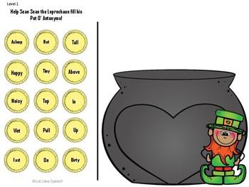 Sean Sean the Leprechaun's Pot O' Vocabulary