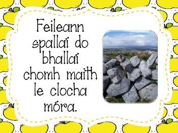 Seanfhocal na Seachtaine (as Gaeilge) // Proverb of the Week (in Irish)